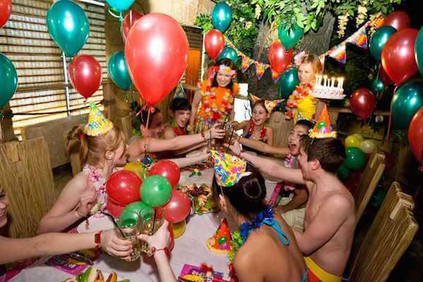 день рождения в сауне